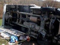 Sarız'da trafik kazası: 7 yaralı