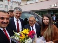 Büyükkılıç'tan Başkan Cabbar'a ziyaret