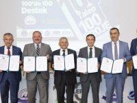 ERÜ'den 100'de 100 Proje Desteği