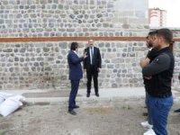 Palancıoğlu, Filinta'nın Konağı'nda incelemelerde bulundu