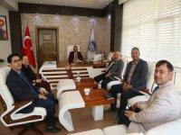 Kayseri Üniversitesi Rektörü Karamustafa'dan Cabbar Başkan'a Ziyaret