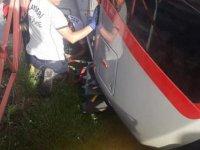 İldem'de Tramvayın altında kalan yaşlı kadın yaralı olarak kurtarıldı