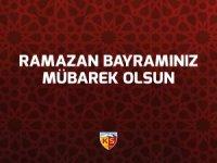 Kayserispor Ramazan Bayramanız Mübarek Olsun