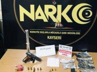 Kayseri'de Uyuşturucu operasyonunda 2 gözaltı