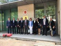 Palancıoğlu AB Türkiye Cumhuriyeti Daimi Temsilcisi Büyükelçi Mehmet Kemal Bozay ile görüştü