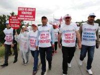 """Hizmet-iş Sendikası Kayseri Şube Başkanı Serhat Çelik, """"Yaşanan zulme sessiz kalmadık"""""""
