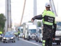 Kayseri'de bir rekor 1 ayda 21 bin 121 araca trafik cezası yazıldı