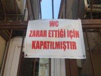 Bursa'da 50 yıldır hizmet veren umumi tuvalet iflas etti