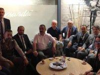 Ak Parti Melikgazi Teşkilatından AYD Başkanı Sinan Burhan'a Ziyaret
