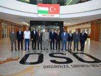 Macaristan Büyükelçisi Viktor Matis Kayseri OSB'ni Ziyaret Etti