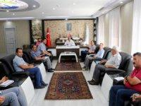 Başkan Öztürk birim müdürleriyle değerlendirme toplantısı yaptı