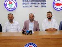 """Eğitim Bir Sen, """"Kayseri'de Liselerin İkili Eğitime Geçmesi Eğitimcileri Üzmüştür"""""""