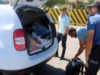 Kayseri trafik Drone ile takipte ışık ihlali yapanlara ceza kesti