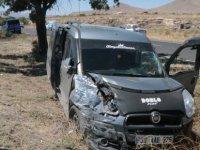 Kayseri-Niğde karayolunda trafik kazası: 7 yaralı