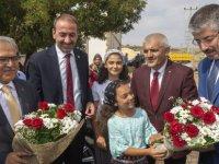 Başkan Büyükkılıç'a Tomarza'da yoğun ilgi ilgi