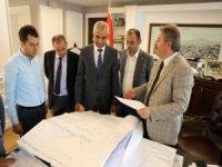 """Palancıoğlu: """"Mimarsinan OSB'ye ulaşımda alternatif yolu tamamlayarak seri ve güvenli ticaret akışını sağladık"""""""