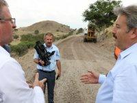Melikgazi Sakarya mahallesinde asfalt çalışmalarına başladı