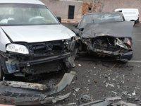 Hisarcık'ta kaza: 2 yaralı