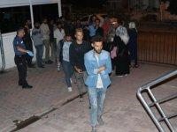 Kayseri otogar çevresinde 49 göçmen yakalandı