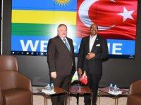 Ruanda Büyükelçisi Kayseri OSB'yi Ziyaret Etti