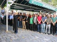 Birlik Kayseri Şube Başkanı Mehmet Adıgüzel'in acı günü