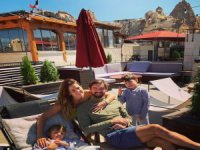 Kayseri'de bu sevimli aileyi görmek harika