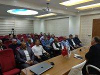 Prof. Dr. Yeşilyurt Kayseri Eğitim Bir Sen'de eğitimcilerle buluştu