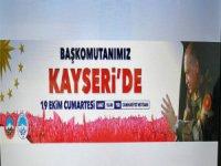 CUMHURBAŞKANI RECEP TAYYİP ERDOĞAN KAYSERİ'DE