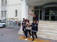 Kayseriyi soyup soğana çeviren kadın hırsızlar yakalandı
