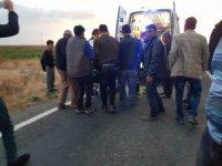 Sindelhöyük'te trafik kazası: 1 yaralı