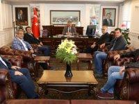 Harita Mühendislerinden Başkan Palancıoğlu'na ziyaret