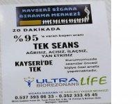 Kayseri'de Ultra Biorezonans Life sigara bırakma merkezi hizmetinizde