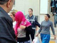 Kayseri'de hırsızlık yapan kadınlar yakalandı