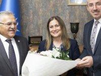 Başkan Büyükkılıç'tan AK Parti İl Teşkilatı'na ziyaret