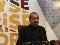 Berna Başkan Kayserispor'a 1 milyon Dolar yardım yaptı