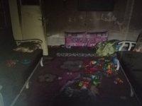Yahyalı'da anneleri alışverişe gitti, çıkan yangında 2 çocuk hayatını kaybetti