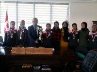 OSB Teknik Koleji atletizmde kupaları topladı