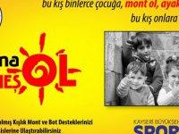 Spor A.Ş. bir kez daha anlamlı bir kampanyaya imza atıyor