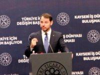 Albayrak Kayseri'de müjdeyi verdi Faizler, maliyetler düşüyor