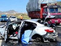 Kocasinan Bulvarı köprülü kavşakta trafik kazası: 6 yaralı