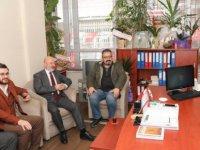 Ak Parti Kocasinan İlçe Başkanı Okandan CHP'ye Hayırlı olsun ziyareti