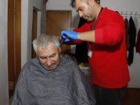 Kayseri Büyükşehir yaşlılara evlerinde hizmet veriyor