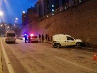 Battalgazi Bulvarında trafik kazası: 1 yaralı