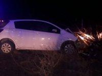 Yeşilhisar'da Otomobil şarampole indi 2'si çocuk 8 kişi yaralandı