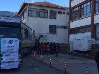 Kayseri'deki Odaların Yardımları Deprem Bölgesine Ulaştı