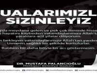 """Başkan Palancıoğlu: """"Belediyemiz tüm imkanlarıyla Elazığ'a desteğe hazır"""""""