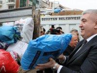 MHP Kayseri İl Başkanlığı'ndan deprem bölgelerine yardım eli