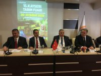 """Abdulkadir Güneş: """"Artık Kayseri'de tarım fuarı oturdu"""""""