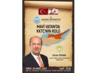 KTTC Başbakanı Kayseri Üniversitesi'nde