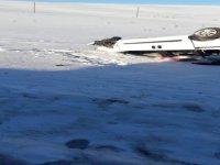 Feci kaza takla atarak şarampole uçtu: 2 ölü, 2 yaralı